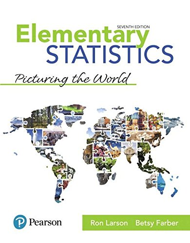 Elementary Statistics + Mylab Statistics With Pearson Etext Access Card:  7th 2018 9780134684901 Front Cover