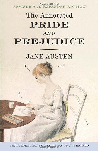 Annotated Pride and Prejudice A Revised and Expanded Edition  2012 edition cover