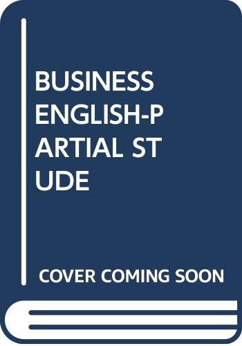 BUSINESS ENGLISH-PARTIAL STUDE 9th 2008 edition cover