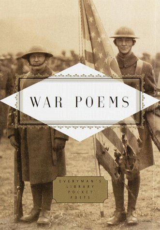 War Poems  N/A edition cover