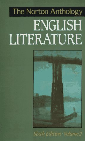 Norton Anthology of English Literature  6th 1993 edition cover