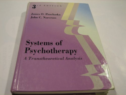 Systems of Psychotherapy A Transtheoretical Analysis 3rd 1994 edition cover