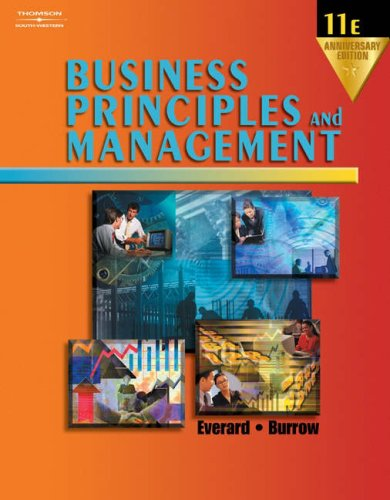 Business Principles and Management  11th 2004 (Revised) 9780538435901 Front Cover