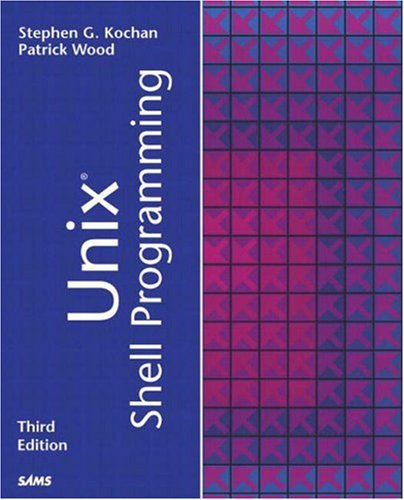 Unix Shell Programming  3rd 2003 (Revised) edition cover