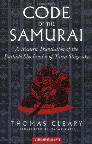 Code of the Samurai A Modern Translation of the Bushido Shoshinshu of Taira Shigesuke  1999 edition cover