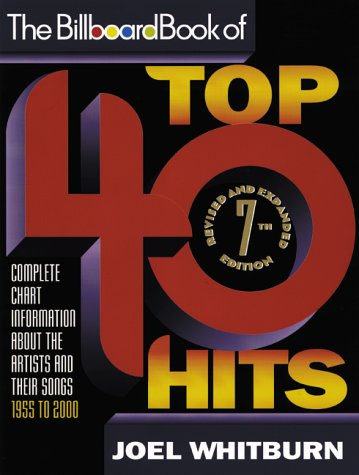 Billboard Book of Top 40 Hits  7th 2000 edition cover