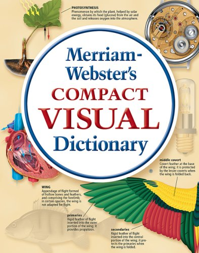 Merriam-Webster's Compact Visual Dictionary   2010 edition cover