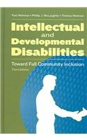 Intellectual and Developmental Disabilities Toward Full Community Inclusion 3rd 2005 edition cover