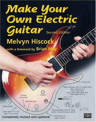 Make Your Own Electric Guitar  2nd 1998 edition cover