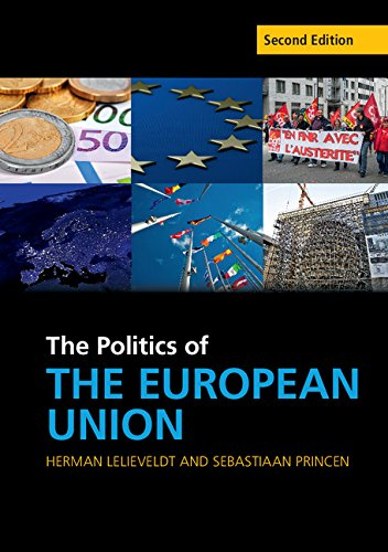 Politics of the European Union  2nd 2015 (Revised) 9781107544901 Front Cover