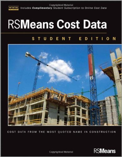 RSMeans Cost Data  2nd 2012 edition cover