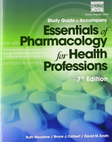 Essentials of Pharmacology for Health Professions:   2014 9781285077901 Front Cover