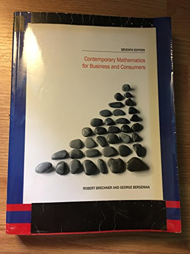 CONTEMP.MATH.F/BUS.+CONS.>ANNOT.INSTRS< N/A 9781285837901 Front Cover