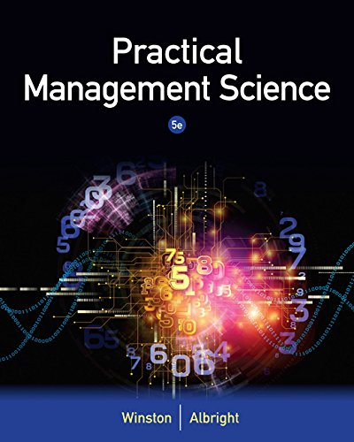 Practical Management Science:   2015 9781305250901 Front Cover