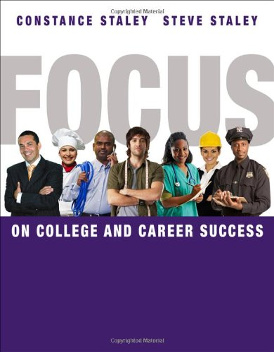 FOCUS on College and Career Success   2012 edition cover