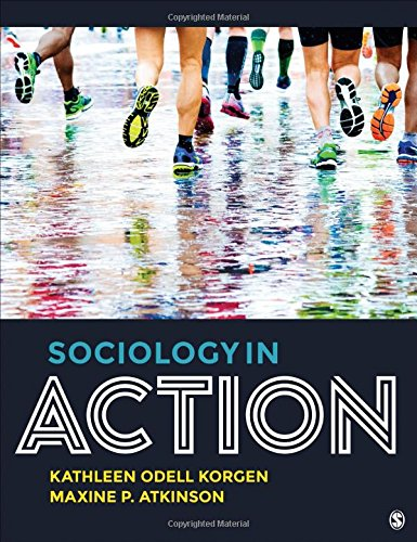 Sociology in Action   2019 9781506345901 Front Cover