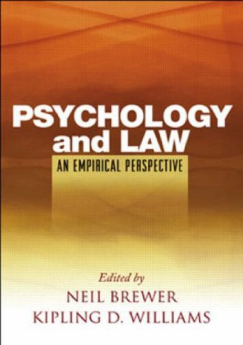 Psychology and Law An Empirical Perspective  2005 edition cover