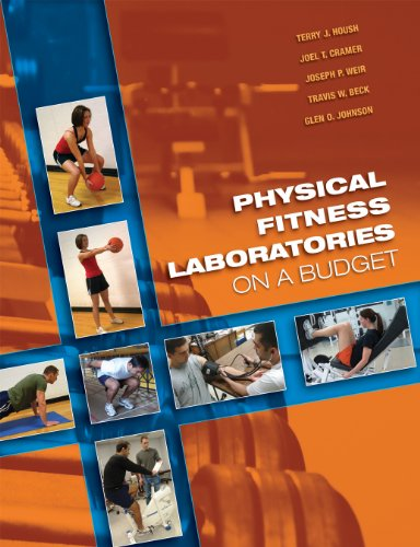 Physical Fitness Laboratories on a Budget  2009 edition cover