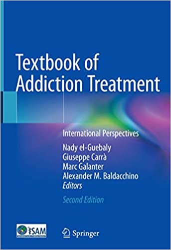 Cover art for Textbook of Addiction Treatment, 2nd Edition
