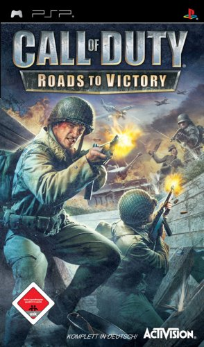 Call of Duty: Roads to Victory Sony PSP artwork