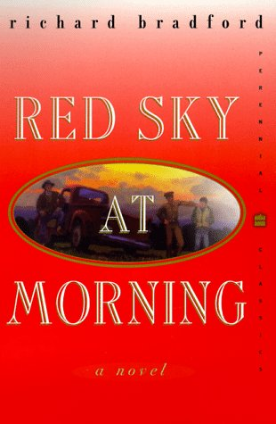 Red Sky at Morning A Novel N/A 9780060931902 Front Cover