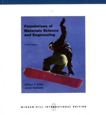 Foundations of Materials Science and Engineering N/A edition cover
