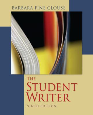 Student Writer  9th 2013 edition cover