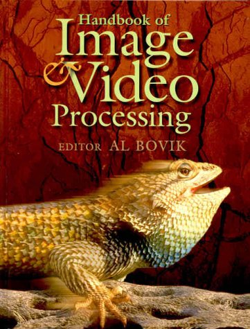 Handbook of Image and Video Processing   2000 edition cover