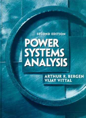 Power Systems Analysis  2nd 2000 edition cover