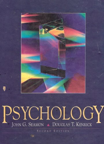 Psychology  2nd 1994 9780137066902 Front Cover