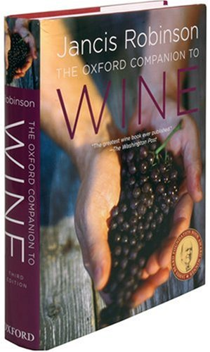Oxford Companion to Wine  3rd 2006 (Revised) edition cover