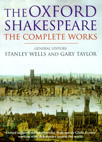 Shakespeare - The Complete Works  2nd 1998 edition cover
