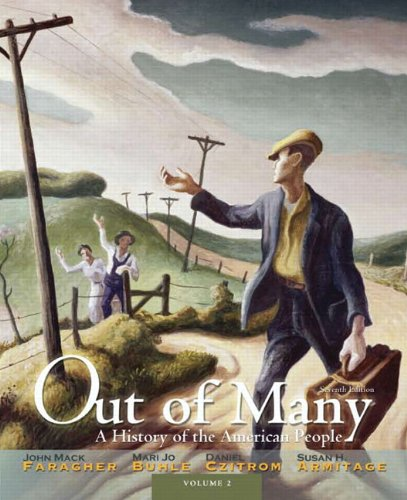 Out of Many A History of the American People: Volume 2 7th 2012 (Revised) edition cover