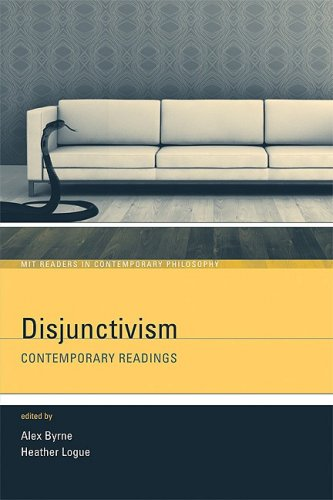 Disjunctivism Contemporary Readings  2009 edition cover