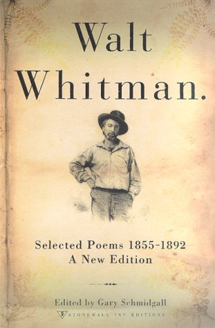 Walt Whitman Selected Poems 1855-1892  2001 (Revised) edition cover