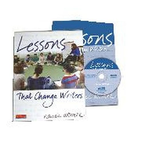 Lessons That Change Writers Lessons with Electronic Binder  2007 edition cover