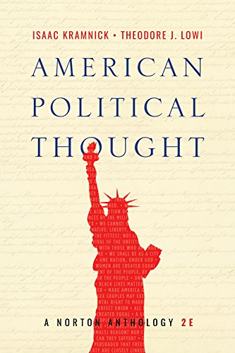 American Political Thought: A Norton Anthology  2018 9780393655902 Front Cover