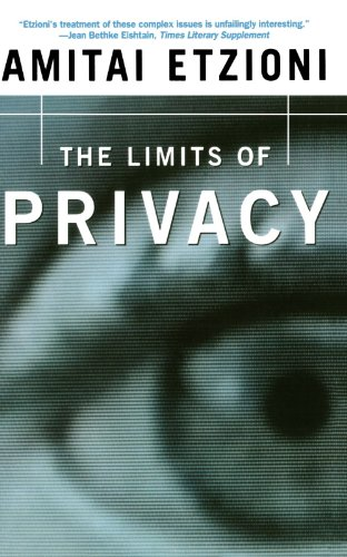 Limits of Privacy   2000 edition cover