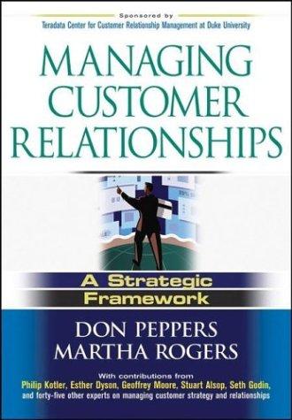 Managing Customer Relationships A Strategic Framework  2004 edition cover