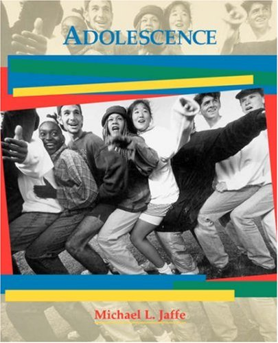 Adolescence   1998 9780471571902 Front Cover