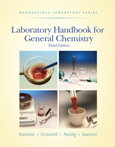 Laboratory Handbook for General Chemistry  3rd 2007 edition cover