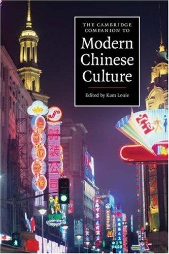 Cambridge Companion to Modern Chinese Culture   2008 edition cover