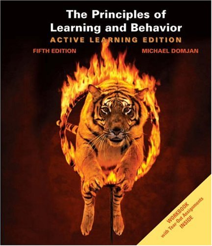 Principles of Learning and Behavior Active Learning Edition 5th 2006 edition cover