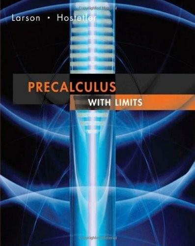 Precalculus with Limits Ap 1st 2007 9780618660902 Front Cover