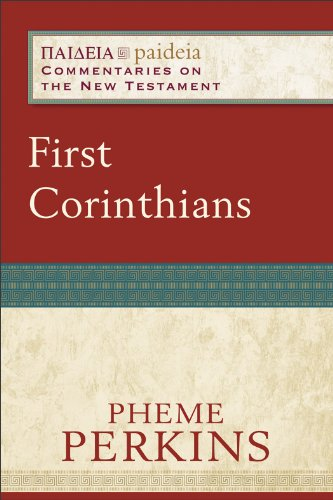 First Corinthians   2012 9780801033902 Front Cover
