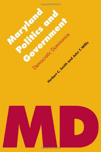 Maryland Politics and Government Democratic Dominance  2012 edition cover