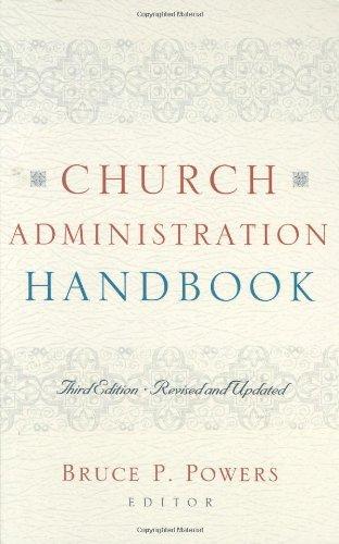 Church Administration Handbook  3rd 2008 edition cover