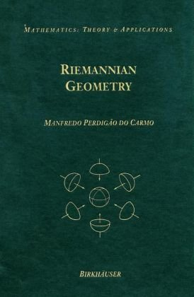 Riemannian Geometry  4th 1992 edition cover