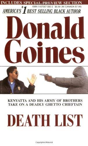 Death List   2003 (Reprint) edition cover