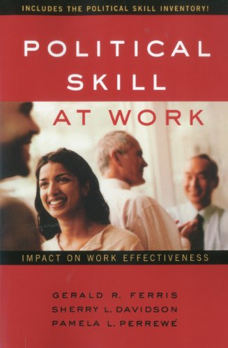 Political Skill at Work Impact on Work Effectiveness N/A edition cover
